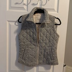 A&F Quilted Vest